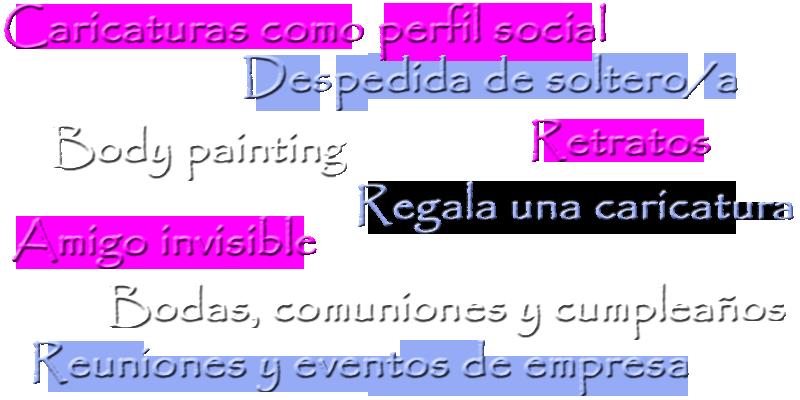 Caricaturas, retratos y pintura para eventos en Alicante