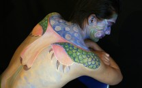 Intrarte Body painting 00016
